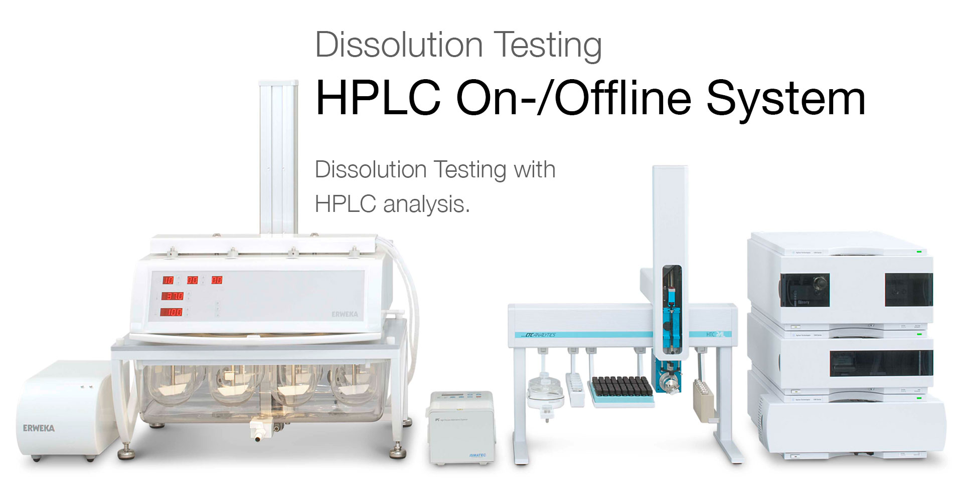 Dissolution Testers Hplc On Offline System Total