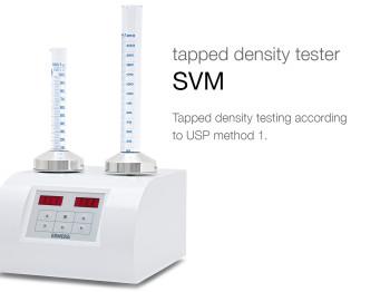 tapped density tester