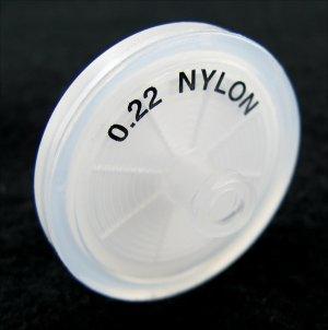 .22um Nylon Syringe Filter (Pack/50)