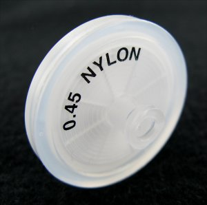 .45um Nylon Syringe Filter (Pack/50)