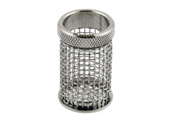 8 Mesh Basket Sinker, 316 SS, 1.5″ (38mm) L x .62″ (15.7mm) W capacity, custom