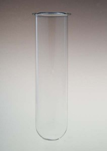 200mL Clear Glass Vessel for Agilent/VanKel Small Volume, Serialized