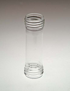 100mL Clear Inner Sample Tube with Threaded Ends for Agilent/VanKel APP 3 Biodissolution