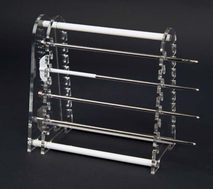 16 Position Paddle/Basket Shaft Holder (Captured Style)