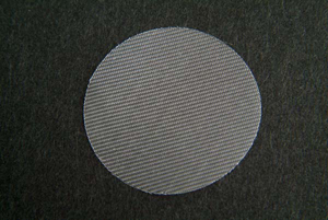 100 Mesh 1.25″ (31.75mm) dia. Screen for Agilent/VanKel APP 3 Biodissolution, Polypropylene (Pack/25)