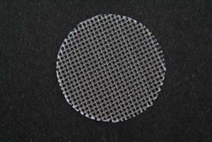 20 Mesh 1.25″ (31.75mm) dia. Screen for Agilent/VanKel APP 3 Biodissolution, Polypropylene (Pack/25)
