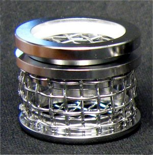 8 Mesh Sinker Basket with Lid, 316 SS