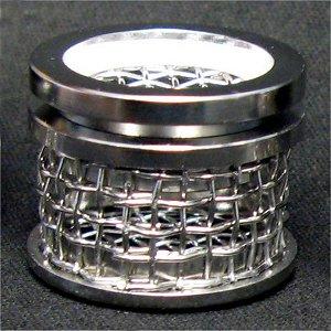10 Mesh Sinker Basket with Lid, 316 SS