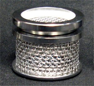 20 Mesh Sinker Basket with Lid, 316 SS
