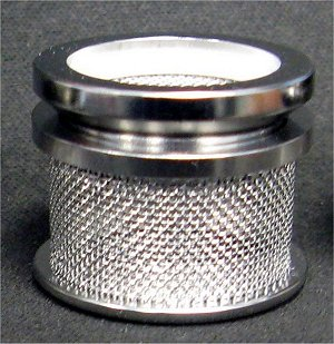 40 Mesh Sinker Basket with Lid, 316 SS