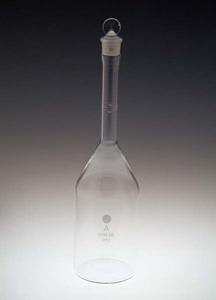 1000mL Volumetric Flask with Round Bottom, Class A, Calibrated to 20°C