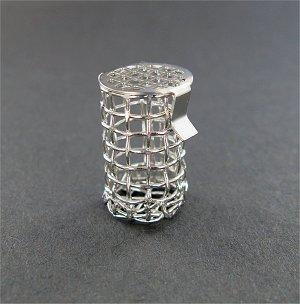 8 Mesh Basket Sinker, 316 SS, .90″ (22.9mm) L x .51″ (12.9mm) W capacity